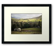 Lake District landscape Framed Print