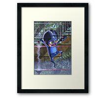 Megaman / Rockman Nintendo Framed Print