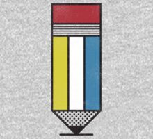 Mondrian's Pencil #2 by BeanePod