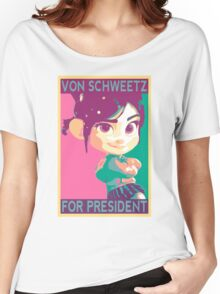 Schweetz for Prez Women's Relaxed Fit T-Shirt