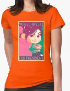 Schweetz for Prez Womens Fitted T-Shirt