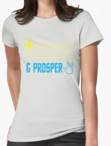 Use The Force & Prosper Womens Fitted T-Shirt
