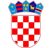 Coat of Arms of Croatia  Photographic Print