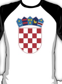 Coat of Arms of Croatia  T-Shirt