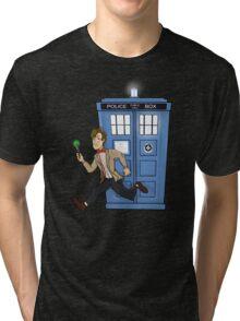 Run, You Clever Boy Tri-blend T-Shirt