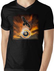 crow and solar trinity Mens V-Neck T-Shirt