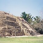 Historic Mayan Pyramid, Belize, Central America by lenspiro