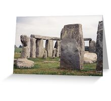 Historic Stonehenge, United Kingdom Greeting Card