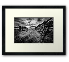 Dispatch Framed Print