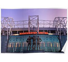 Manchester United Football Club Poster