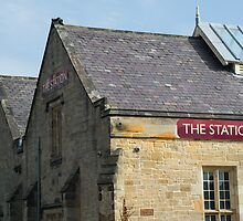 The Station by English Landscape Prints