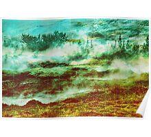 GAMMA Geometric landscape Poster