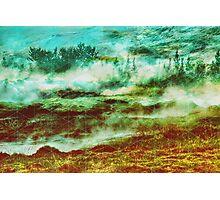 GAMMA Geometric landscape Photographic Print