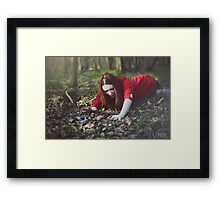 I can't find the communicator!  Framed Print