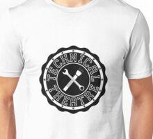 Technical Theatre Logo - Black Unisex T-Shirt