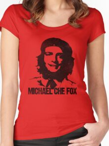 Michael Che Fox Women's Fitted Scoop T-Shirt