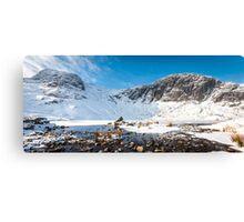 Panoramic Pikes Canvas Print