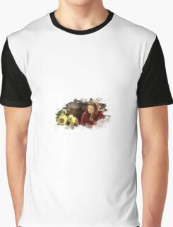 amy pond and sunflowers Graphic T-Shirt