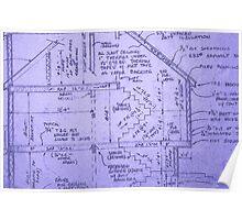 Blueprints Poster