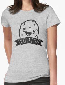 POTATO! Womens Fitted T-Shirt