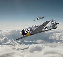 Luftwaffe - FW190 by warbirds