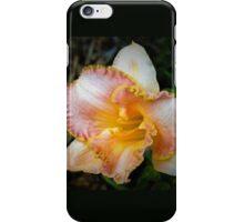 Peach daylily iPhone Case/Skin