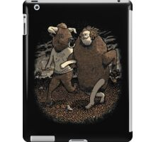 Minotaur Loves Man-Bull iPad Case/Skin