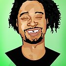 Danny Brown Illustration - Original - BenmcArts by Ben McCarthy