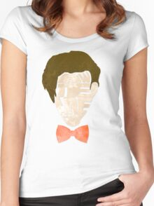 Bow Ties Are Cool - Blue Women's Fitted Scoop T-Shirt