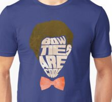 Bow Ties Are Cool - Blue Unisex T-Shirt