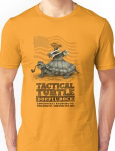 Tactical Turtle Doppel Bock Unisex T-Shirt