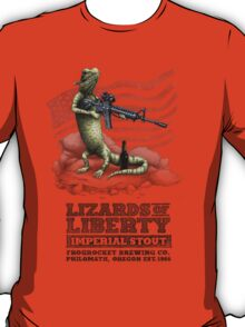 Lizards of Liberty Imperial Stout T-Shirt