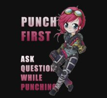 Vi chibi - Punch First - League of Legends by linkitty