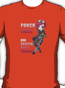 Vi chibi - Punch First - League of Legends T-Shirt