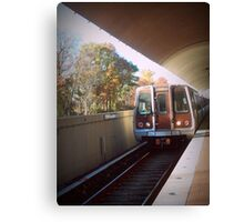 The Metro Station Canvas Print