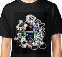 Everyone from Undertale (Flowey, Frisk, Sans, Papyrus, Toriel etc.) Classic T-Shirt