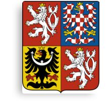 Coat of Arms of Czech Republic  Canvas Print
