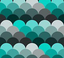 Green and Gray by fairandbright