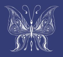 "Butterfly ""Fair Lady"" Butterflies Papillon by artkrannie"