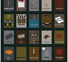 Supernatural Alphabet by madhatters