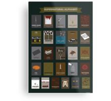 Supernatural Alphabet Metal Print