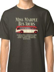 Classic Bus Agatha Christie Tour Classic T-Shirt