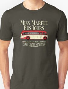 Classic Bus Agatha Christie Tour T-Shirt