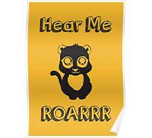 Hear me Roar Poster