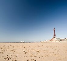 Blackpool Beach by photoeverywhere