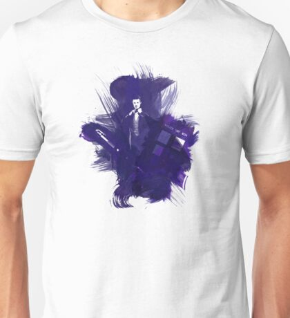 Watercolor Eleventh Doctor Unisex T-Shirt