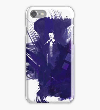 Watercolor Eleventh Doctor iPhone Case/Skin