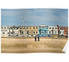 Blackpool seafront Poster