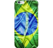 Brazil flag. iPhone Case/Skin