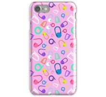 mark my stitches (pink version) iPhone Case/Skin